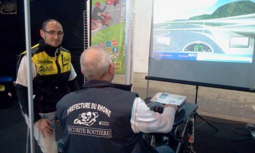 Formation sécurité routière moto pour professionnel Limonest, Lyon